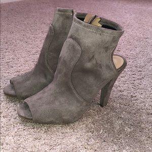 Michael Kors Shoes - Michael Kors Suede open toe bootie